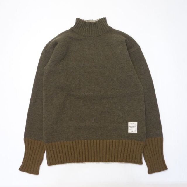 Nigel Cabourn ROYAL NAVY 4WAY TURTLE NECK