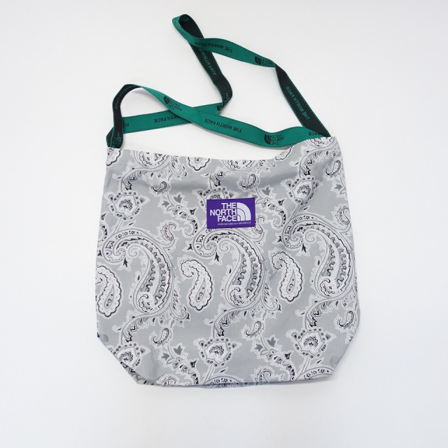 THE NORTH FACE PURPLE LABEL Paisley Print Logo Tape Tote