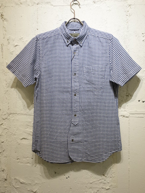 Nigel Cabourn BRITISH OFF SH PINOX GINGHAM S/S