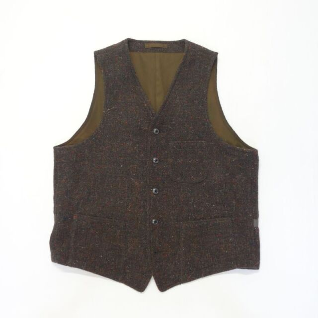 Nigel Cabourn HOSPITAL VEST - DONEGAL TWEED