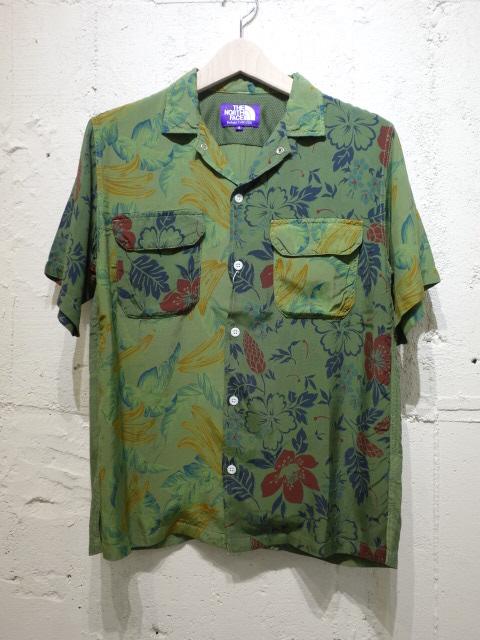 THE NORTH FACE PURPLE LABEL Aloha Print H/S Shirt