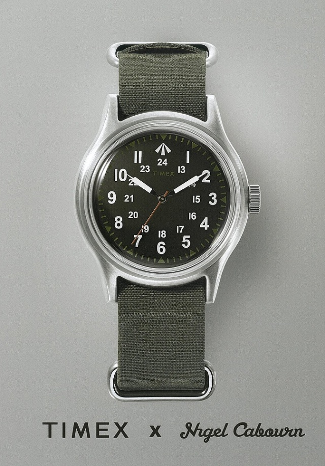Nigel Cabourn x TIMEX NAM WATCH