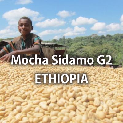 エチオピア モカシダモ G2