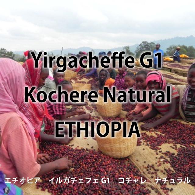 エチオピア イルガチェフェG1 コチャレ ナチュラル