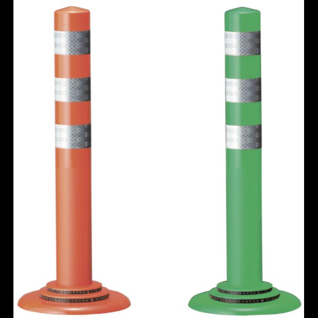 ポールコーンφ250ベースNF-Nタイプ 接着(赤・緑)