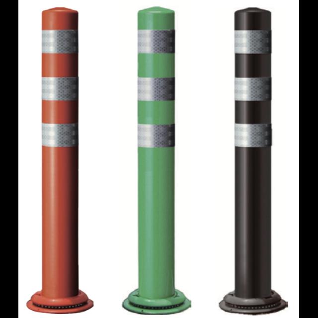 ポールコーンCITY 1本脚(M16)タイプ (赤・緑・ダークブラウン)