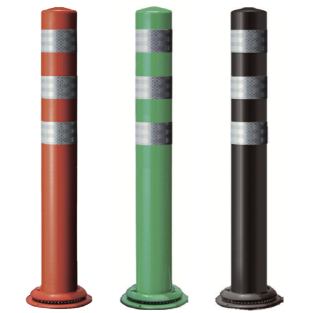 ポールコーンCITY 1本脚(M24)タイプ (赤・緑・ダークブラウン)