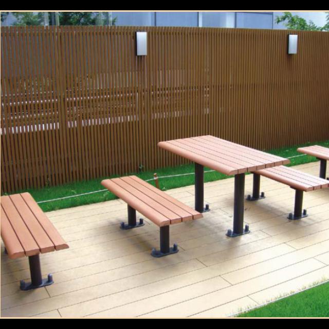 オレンジウッドE・テーブルベンチ