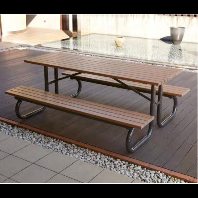 テーブルベンチ2方向タイプ