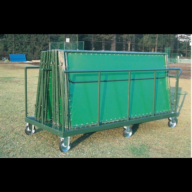 内外野フェンス用保管台車