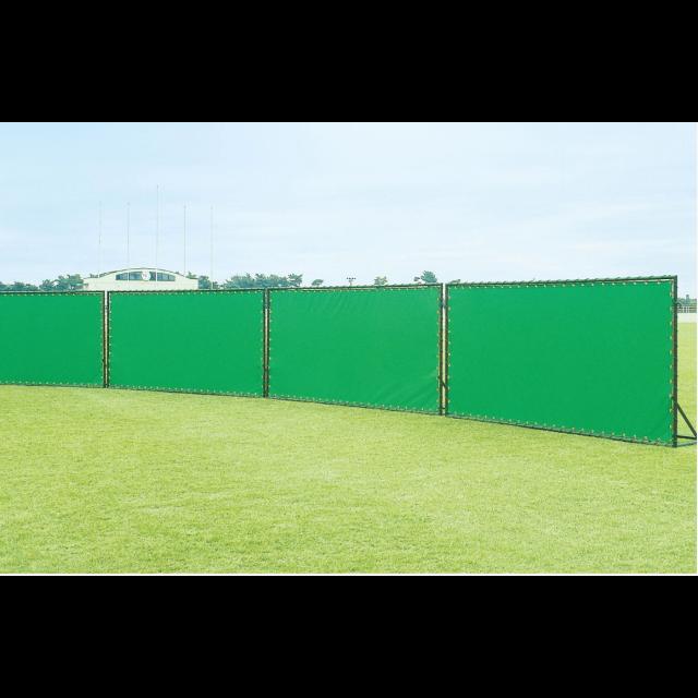 ソフトボール用簡易外野フェンス スチール/アルミ