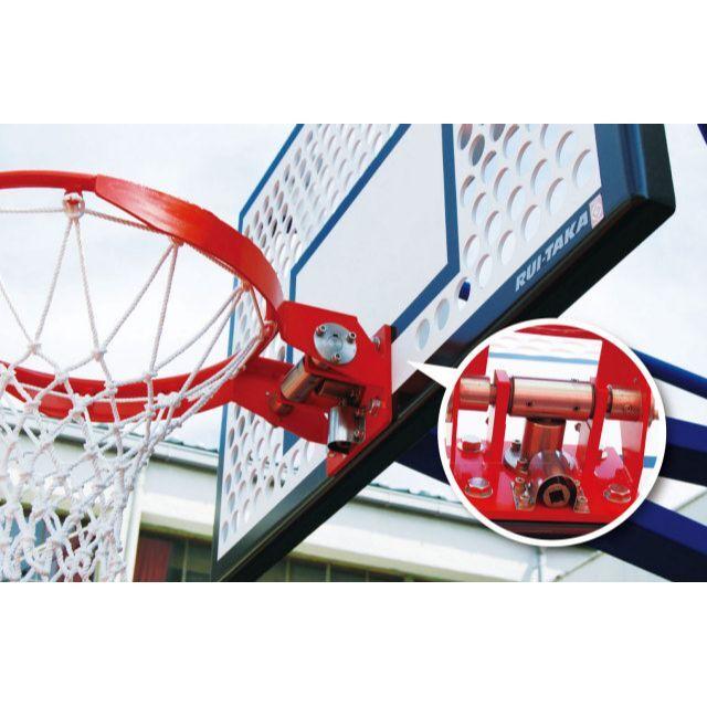 使用制限機能付バスケットゴールリング