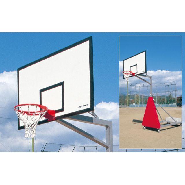 バスケットゴール移動式アルミサンドイッチ「ジュニア用」