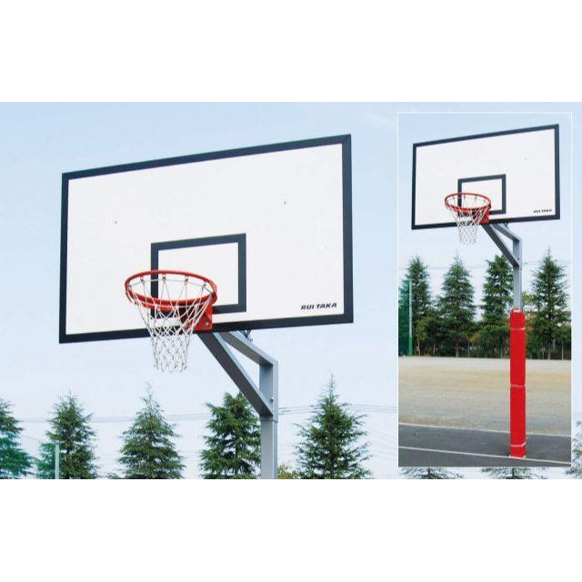 バスケットゴール単柱式アルミサンドイッチ「一般用」