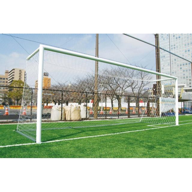 サッカーゴール埋込式 後部アームタイプ 一般用(標準仕様/ターフトレイ対応)