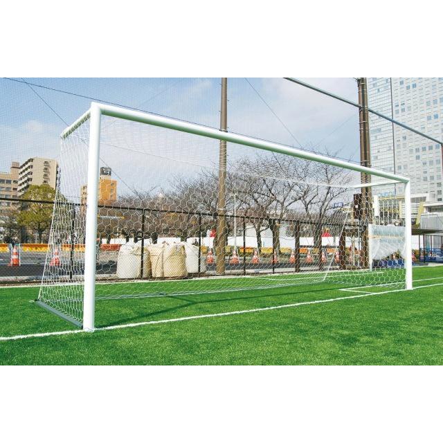 サッカーゴール埋込式 後部アームタイプ ジュニア用(標準仕様/ターフトレイ対応)