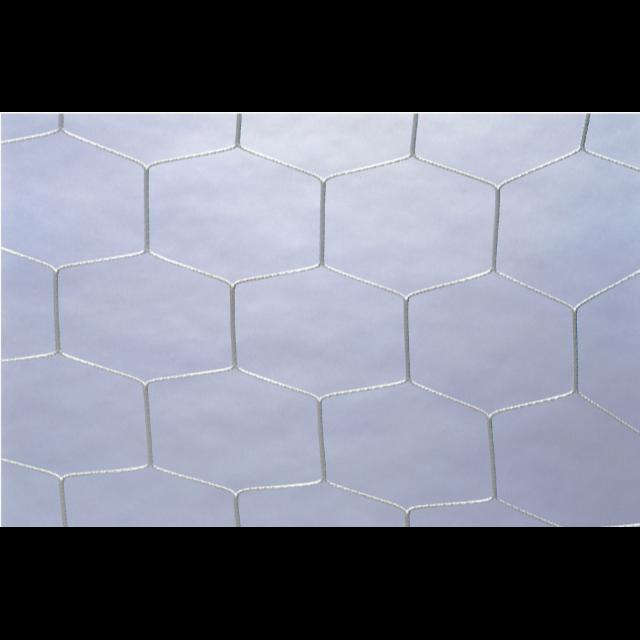 フットサル/ハンドボールゴールネット 六角(白)