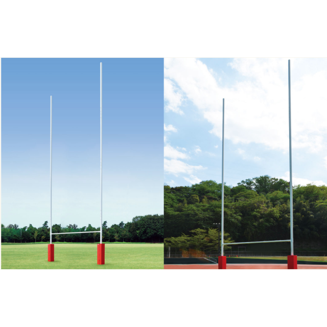 ラグビーゴール起倒式 H17m/13m兼用仕様