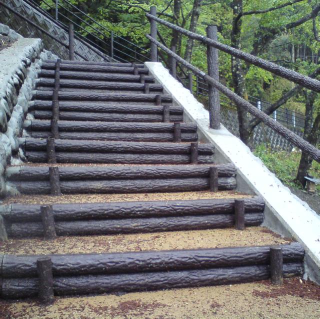 二本組木階段ボルトセット【W750~W2000】