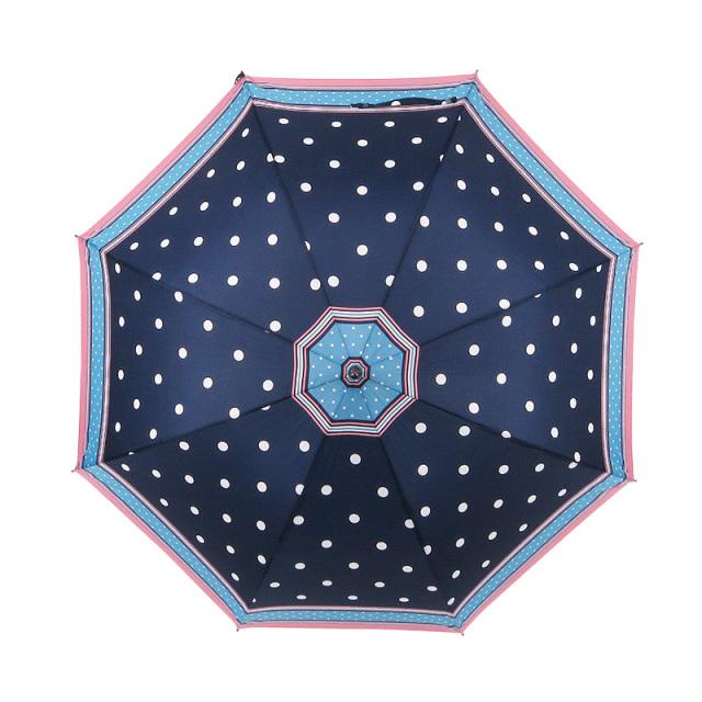 水玉耐風式ジャンプ傘