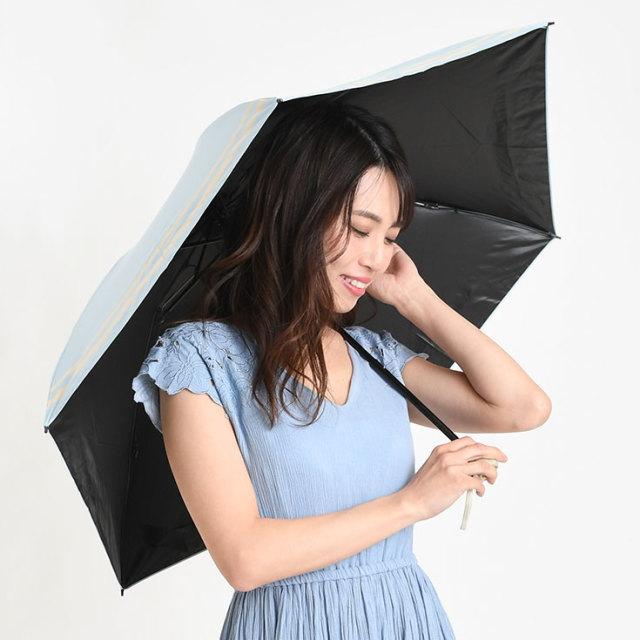 完全遮光折りたたみ日傘