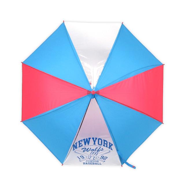 55cm2コマ透明男の子用傘