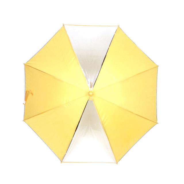 55cm/58cm2コマ透明キッズ傘