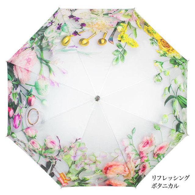 花柄ジャンプ傘