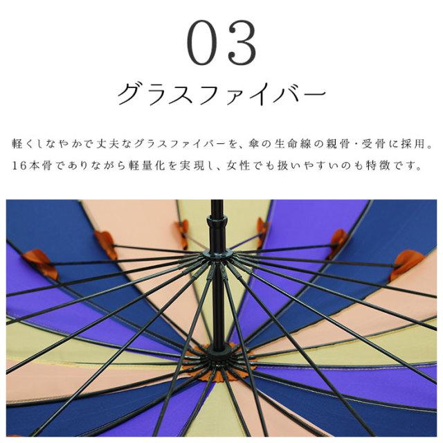 2重張16本骨傘
