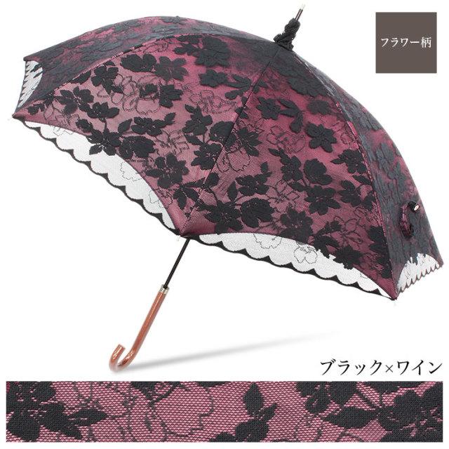 2重張りレース完全遮光日傘