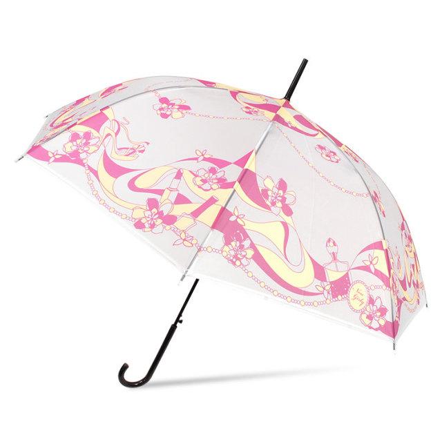 プリント半透明ビニール傘