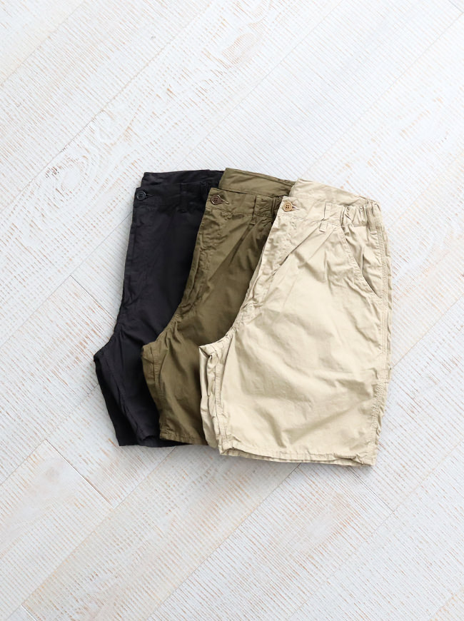 Ordinary fits RELAX PAINTER SHORTS