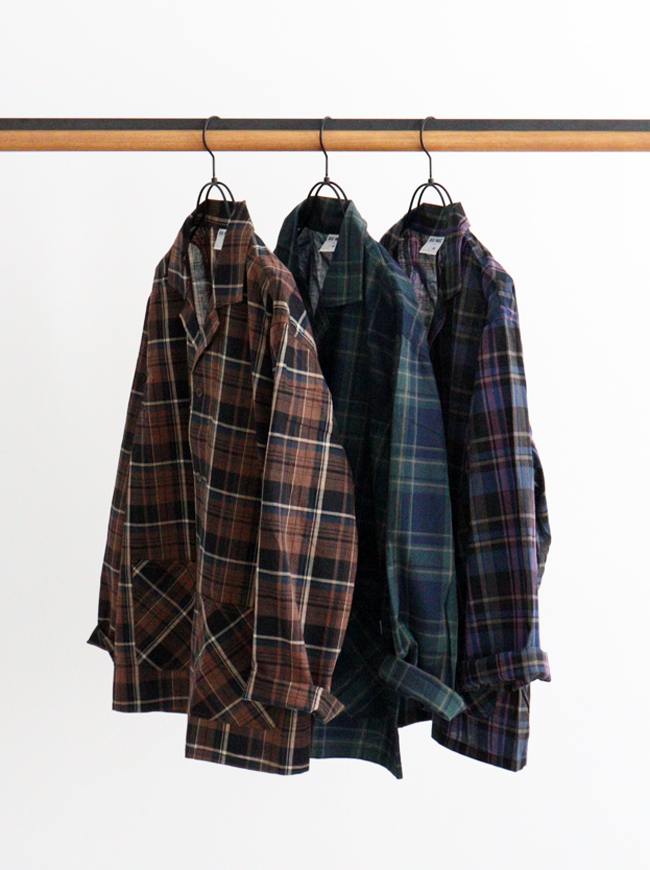 BIG MAC Check Coverall Shirts