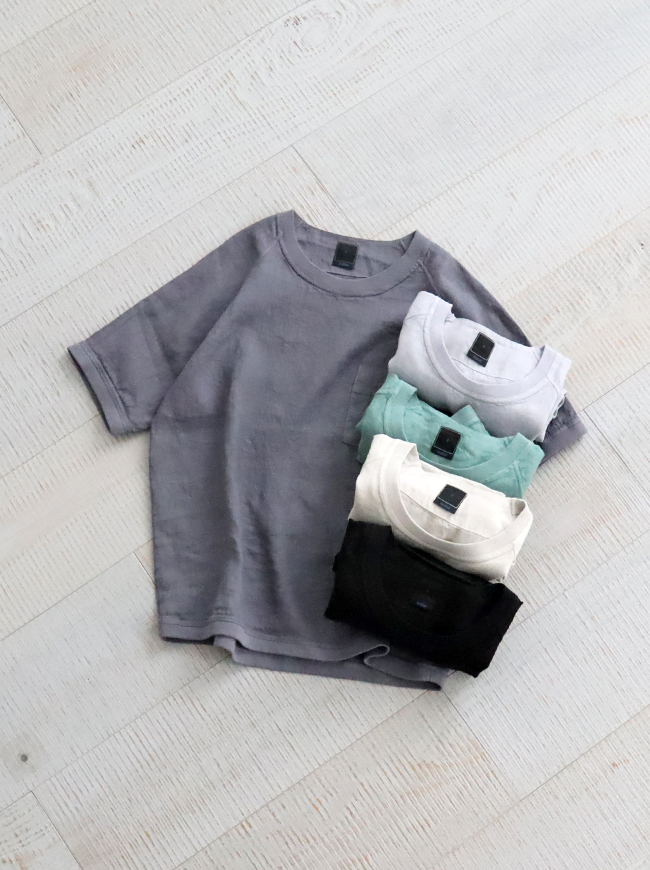 maillot Linen Pocket Shirt-Tee (リネンポケットシャツTee) MAS-16232
