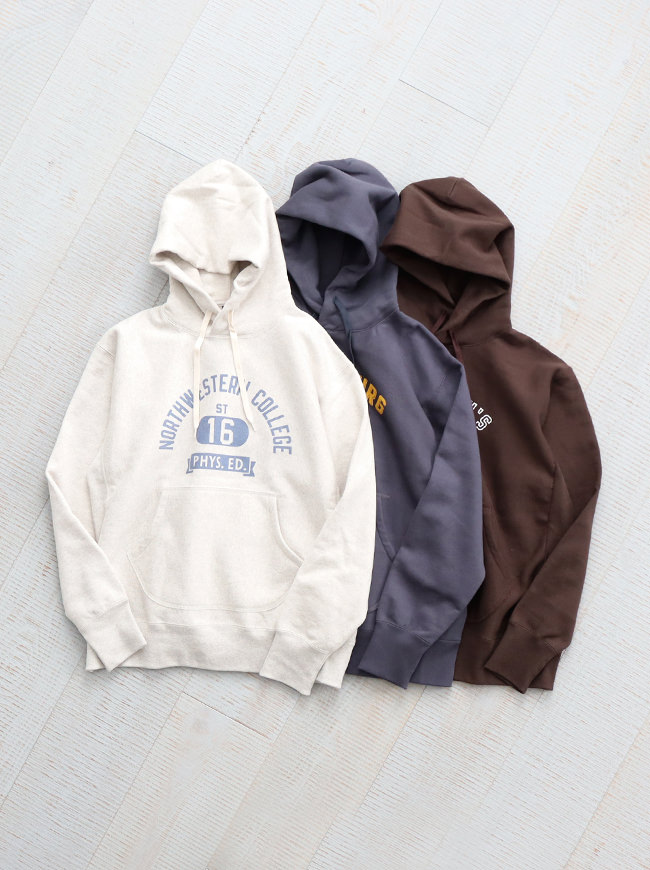 A Vontade Hooded Sweat Parka -ナイモノねだり