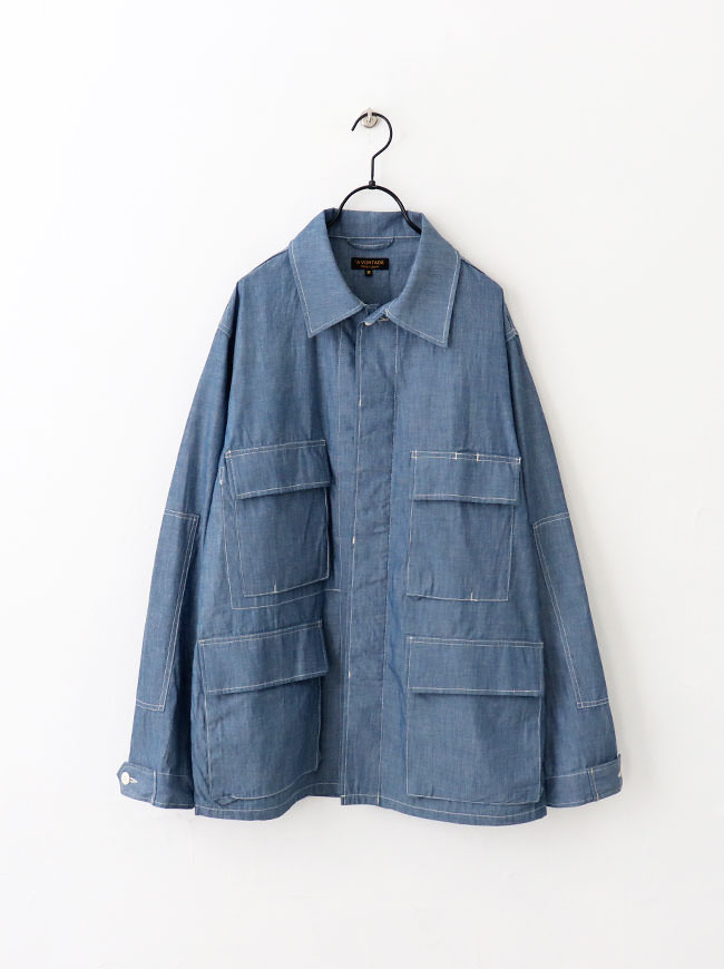 A Vontade BDU Tropical Jacket -4oz Lt. Chambray-