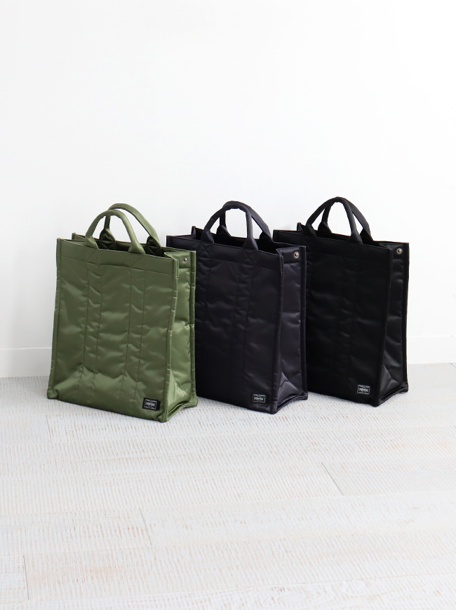 Kaptain Sunshine Standing Tote Made by PORTER