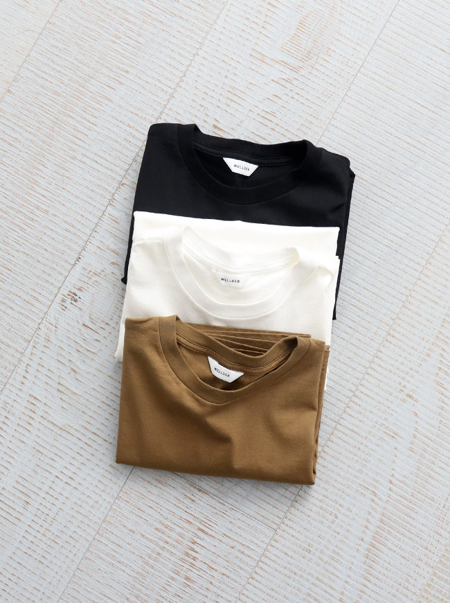 WELLDER Crew Neck T-Shirt