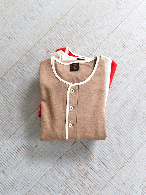 A Vontade Piping Henly Top S/S