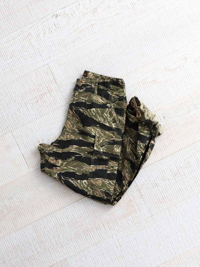A Vontade Jungle Fatigue Trousers -Tiger Camo-