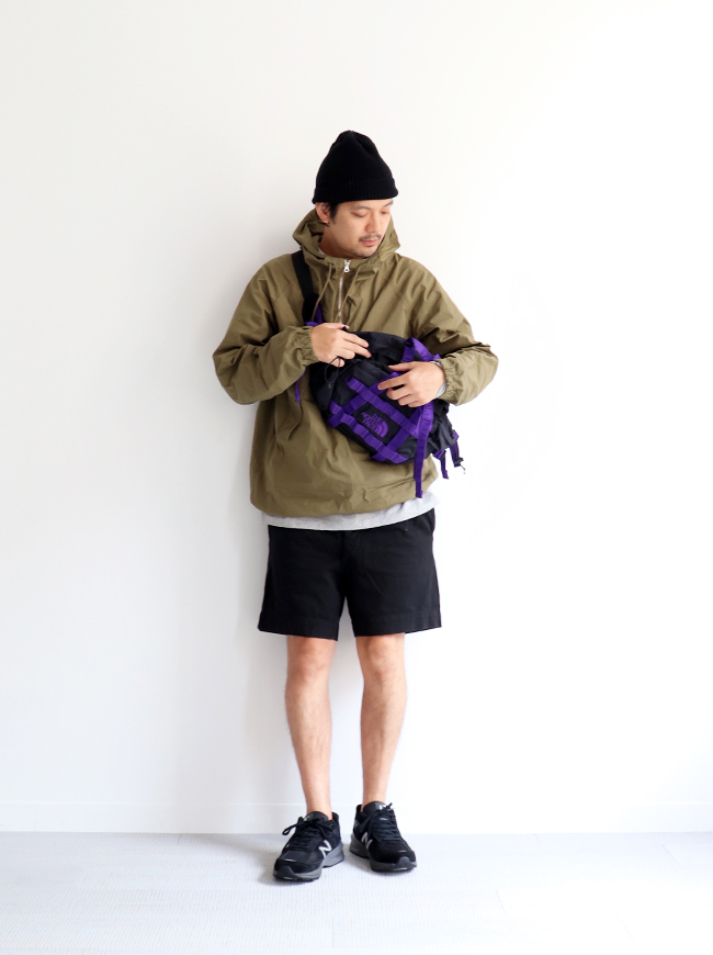 DEAD STOCK 1980's French Army Chino Shorts -Black