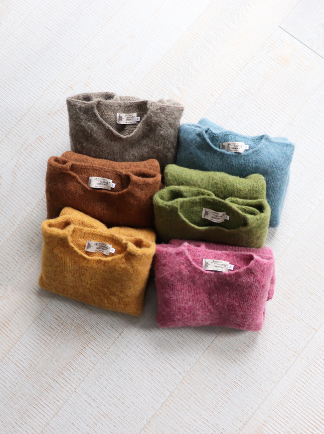 Nor'Easterly L/S SHAGGY CREW NECK -ナイモノねだり