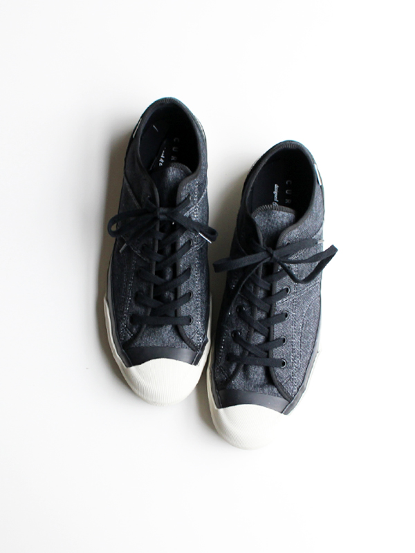 MOONSTAR for CURLY COURT VULC OX with Number Plus -BLACK