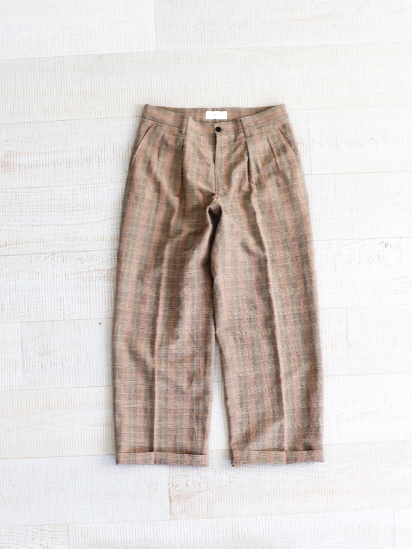 WELLDER Two Tuck Wide Trousers