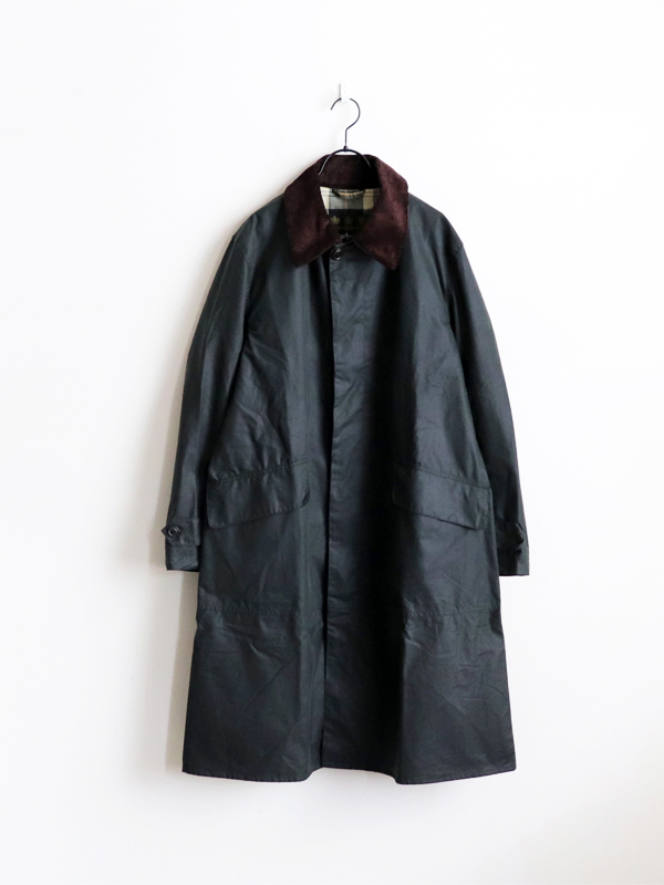 BARBOUR SINGLE BREASTED COAT