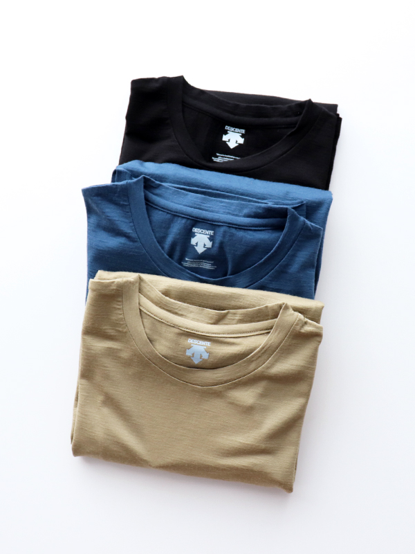 DESCENTE PAUSE MERINO WOOL H/S T-SHIRT