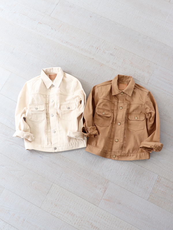 HATSKI 2Pocket Denim Jacket - Katsuragi