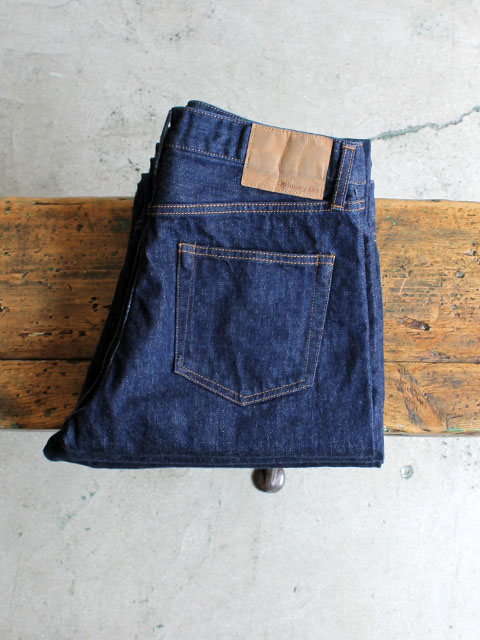 Ordinary fits ANKLE DENIM PANTS - ONE WASH