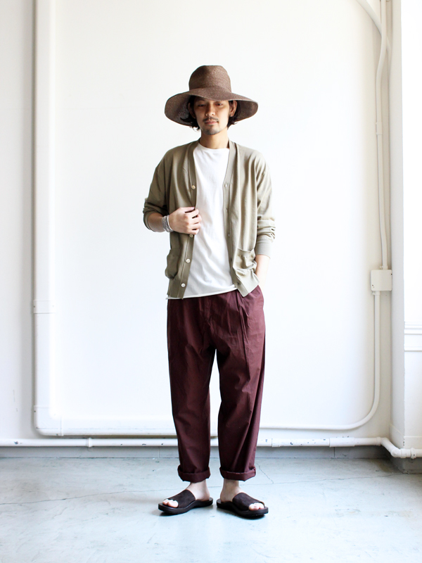 HANSEN GARMENTS Wide Work Trousers -EIGIL