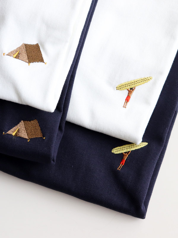"""LIFE TOURS Special Edition""""EEL ×Strato"""" 刺繍Tee"""